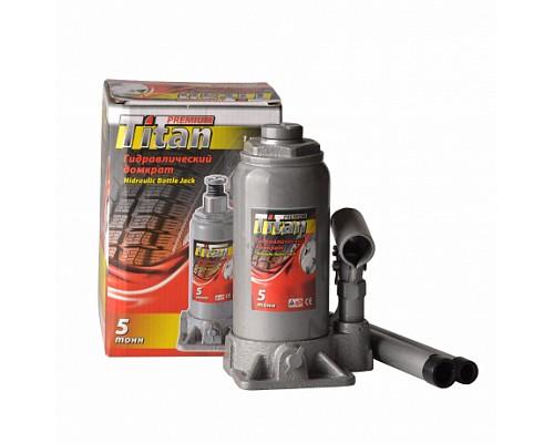 Домкрат гидравлический бутылочный 12т TITAN
