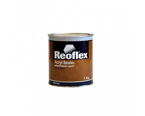 Reoflex - Грунт акриловый 1К (серый)  1кг. 1шт./6шт.