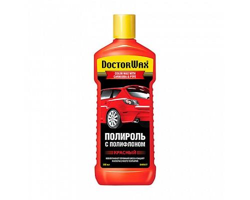 DW8417 Красная полироль с тефлоном 300 мл. 1шт/12шт