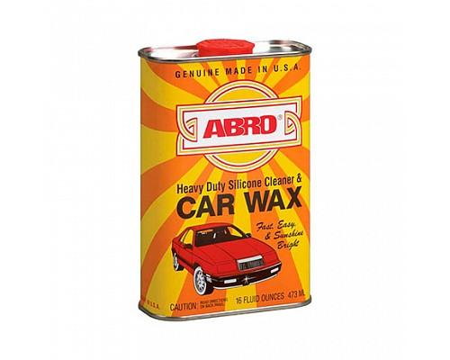 ABRO силиконовый автополироль-очиститель Car Wax SW-300 473мл. 1шт./12шт.