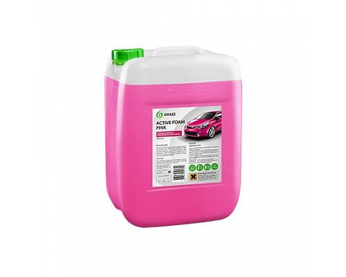 GRASS 08 Розовая суперпена для бесконтактной мойки Active Foam Pink 23кг 800024/113123