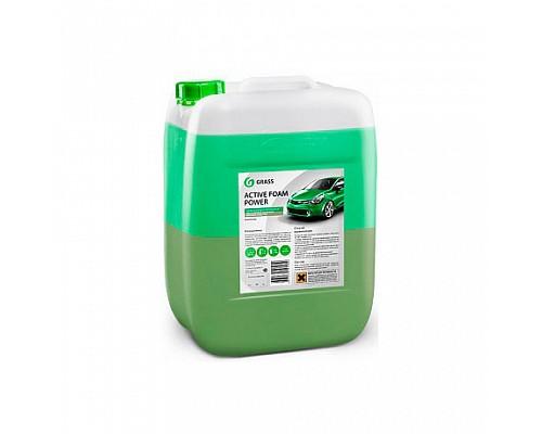 GRASS 12  Сильноконцентрированное 2-х слойное моющ. средство Active Foam Power 23кг 113143/800023