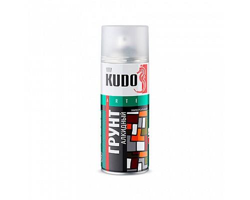 KUDO KU-2002 Грунтовка красно-коричневая 520мл./12шт.