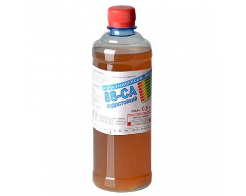 Клей 88-СА универсальный водостойкий  ПЭТ 0,5л 1шт/25шт