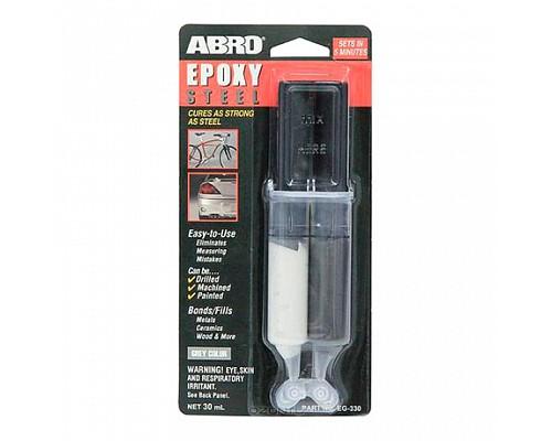 ABRO клей эпоксидный в шприце EG-330 25мл. 1шт./12шт.