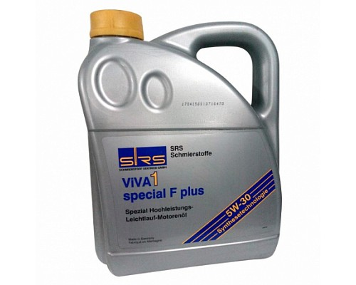 SRS Масло моторное VIVA 1 Special F Plus 5W-30 (4 л.)