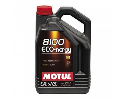 Motul Масло  моторное синт 5w30 8100 Eco-Nergy  A5/B5, SL/CF/5L/ 102898