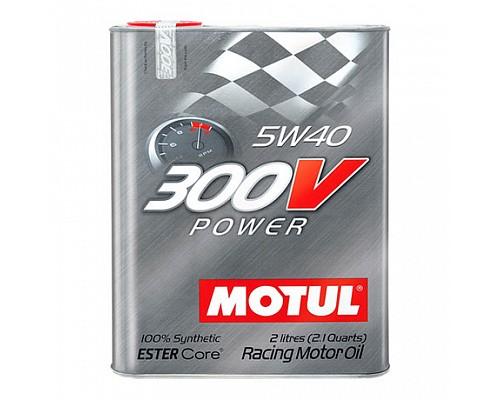 Motul Масло  моторное синт 5w40 300V Power Ester Core 2L 104242