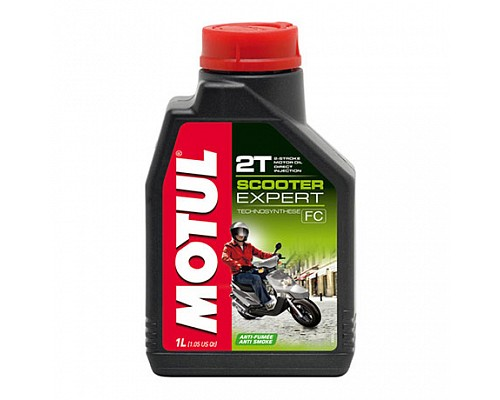 Motul Масло 2Т мото Scooter Expert TC, FC/1L/NEW 106604