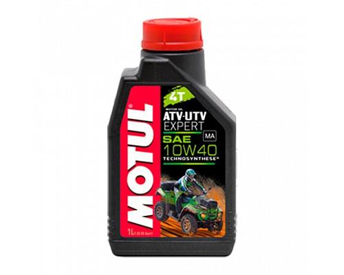 Motul масло 4Т мото 10w40  ATV-UTV EXPERT SM/SL/SJ MA /1L/