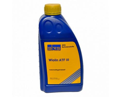 SRS Масло трансмиссионное Wiolin ATF III (1 л.)