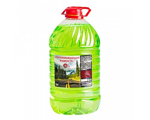 RED R5 Жидкость летняя для стеклоомывателя (лайм) 5л
