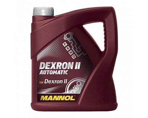 MANNOL DEXTRON II Automatic Трансмиссионное масло для АКПП (4л.) 1/4шт. 1331