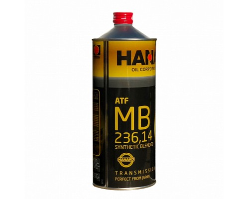HANAKO Трансмиссионное масло ATF MB 236,14 1L
