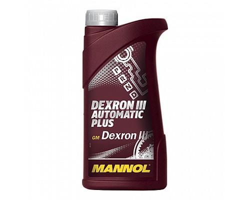 MANNOL DEXTRON III Automatic Plus Синтетическое трансмиссионное масло для АКПП (1л.) 1335 1/20шт.