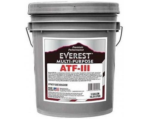 Everest Масло трансмиссионное ATF III H/M (19л)