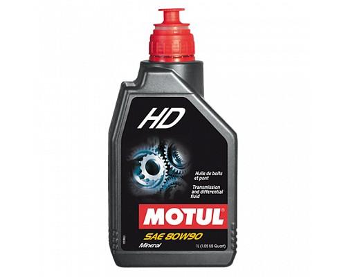 Motul Масло трансмиссионное минеральное  80w90 HD GL4/GL5, MIL-L-2105D/1L/ 105781