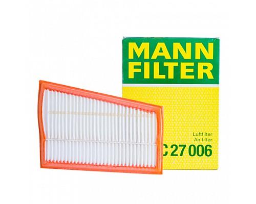 MANN FILTER Фильтр воздушный C 27 006 MB W204/211/463/164/251 2.8D-3.2D 05-