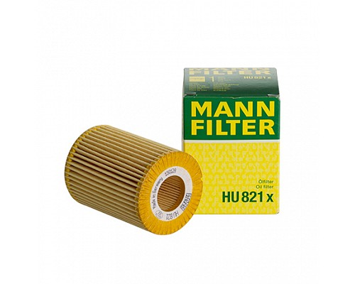 MANN FILTER Фильтр маслянный HU 821 X