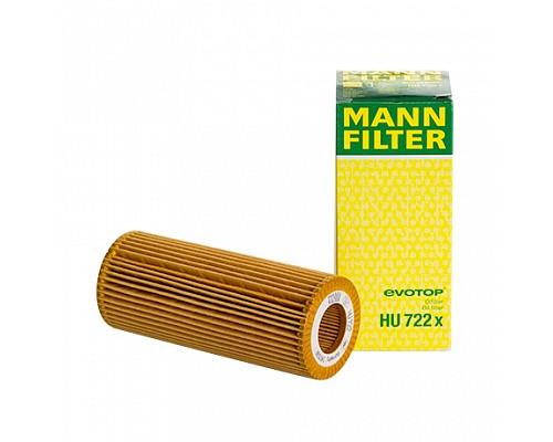 MANN FILTER Фильтр маслянный HU 722 X
