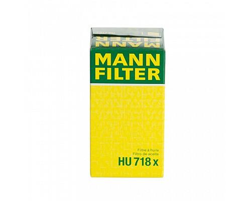MANN FILTER Фильтр маслянный HU 718 X