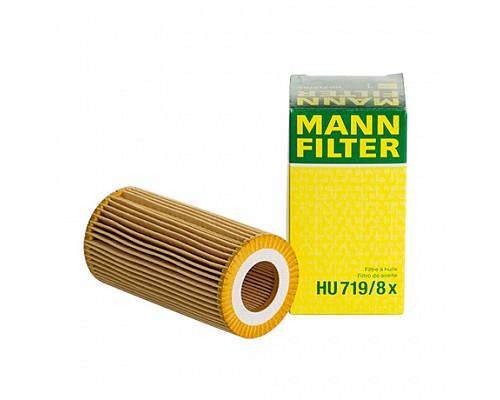 MANN FILTER Фильтр маслянный HU 719/8 X