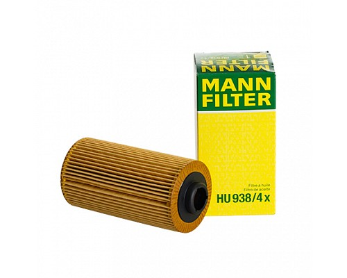 MANN FILTER Фильтр маслянный HU 938/4 X BMW 535-540 E39 M62B44