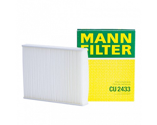 MANN FILTER Фильтр салона CU 2433