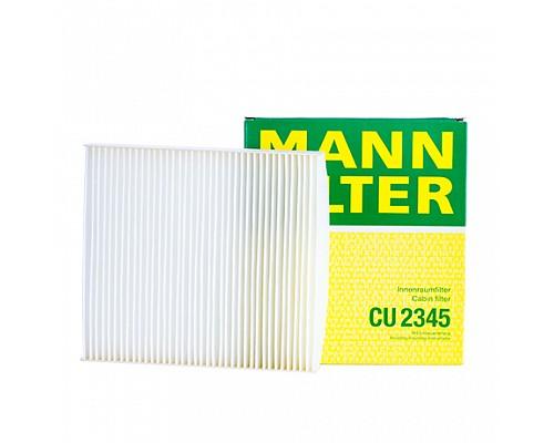 MANN FILTER Фильтр салона CU 2345