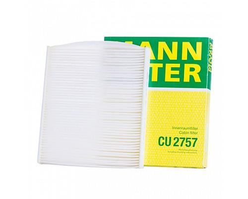 MANN FILTER Фильтр салона CU 2757