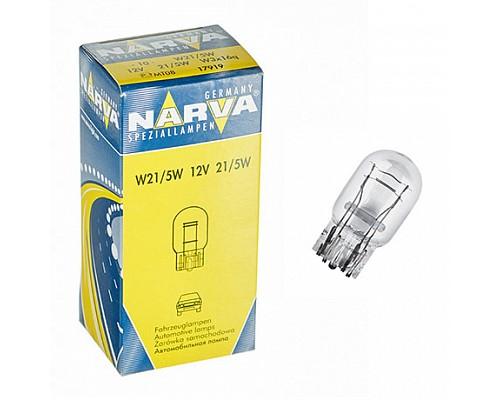 Автолампа NARVA W21/5W 17919 (w3x16q) 12V 10шт
