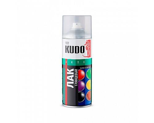KUDO KU-9002 Лак универсальный акриловый глянцевый 520мл 1/12