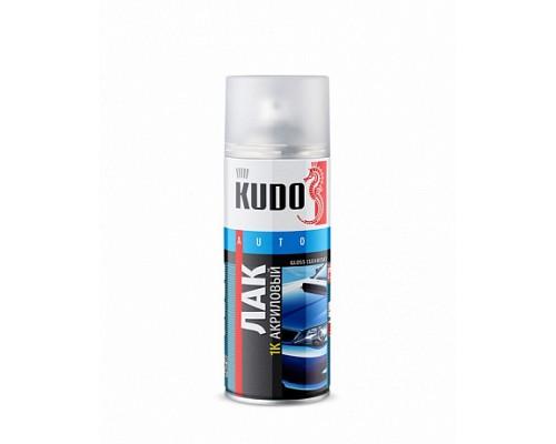 KUDO KU-9010 Лак универсальный акриловый металлик 520мл 1/12
