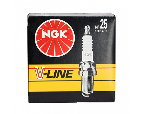 NGK свеча зажигания NR.25 PTR5A-13 SINGLE ELEC V-LINE (VL25)  (4шт) (7586)