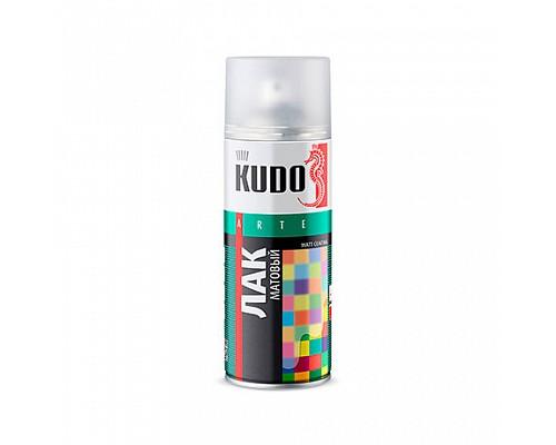 KUDO KU-9004 Лак универсальный акриловый матовый 520мл 1шт/12шт.