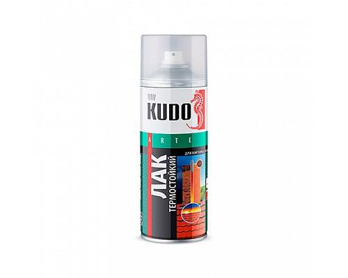 KUDO KU-9006 Лак термостойкий (+250 °C) 520мл 1/6шт