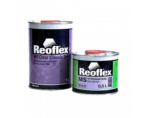 Reoflex - Лак акриловый 2+1 МS (Комплект-1л+отв-0,5л) 1шт./6шт.
