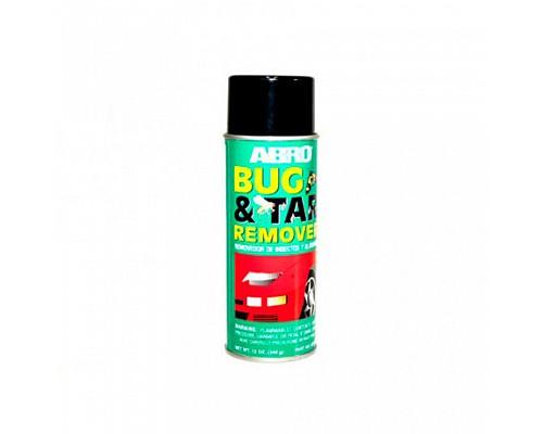 ABRO очиститель битума и насекомых BT-422 340г. 1шт./12шт.