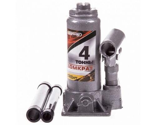 Домкрат гидравлический бутылочный  4т h 168-328мм SKYWAY STANDART 1/10