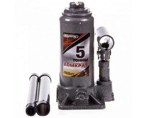 Домкрат гидравлический бутылочный  5т h 180-350мм SKYWAY STANDART 1/5