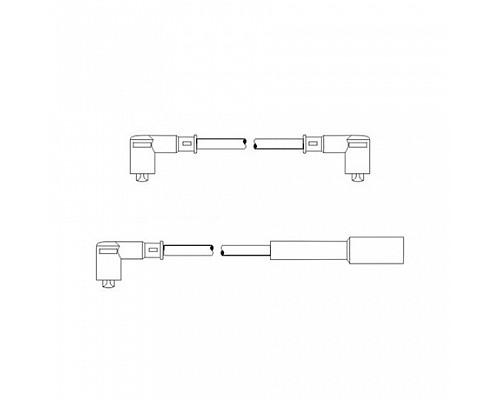 MANNOL Комплект высоковольтных проводов SCT PS608 ВАЗ 2108-10 (карб)