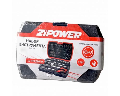 PM4114 Набор инструментов 42 предмета HAND TOOL SET 1шт./3шт.