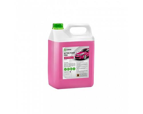 GRASS 06 Розовая суперпена для бесконтактной мойки Active Foam Pink 6кг/4шт  113121