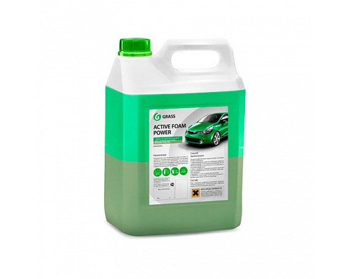 GRASS 10 Сильноконцентрированное 2-х слойное моющ. средство Active Foam Power 6кг/4шт  113141