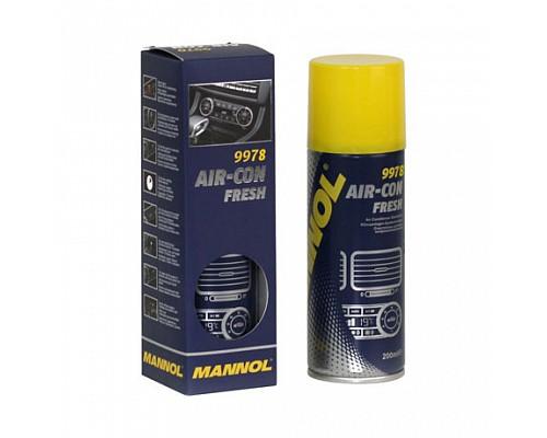 MANNOL 9978 Очиститель системы кондиционирования / Air-Con Fresh (200мл.) 1/24шт. 2149
