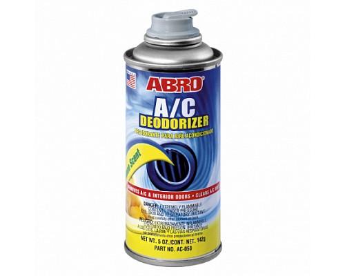 ABRO дезодорант-очиститель кондиционера Лимон AC-050 142г. 1шт./12шт.