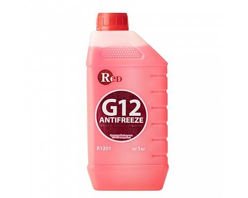 R1201 Антифриз, готовый к применению G12 КРАСНЫЙ 1кг RED 1ш./10шт