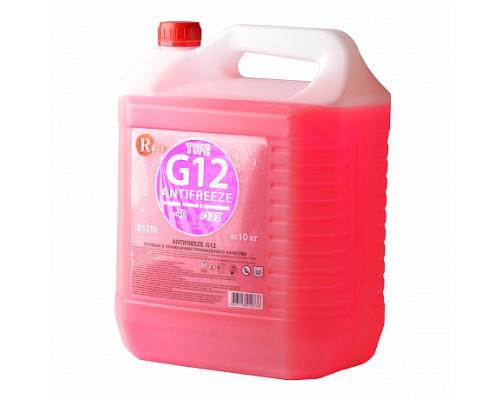 R1210 Антифриз, готовый к применению G12 КРАСНЫЙ 10кг RED 1ш./1шт