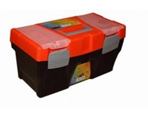 Ящик универсальный ER-10340 с лотком и 2 органайзерами на крышке 500х250х260 мм ЭВРИКА /1/3