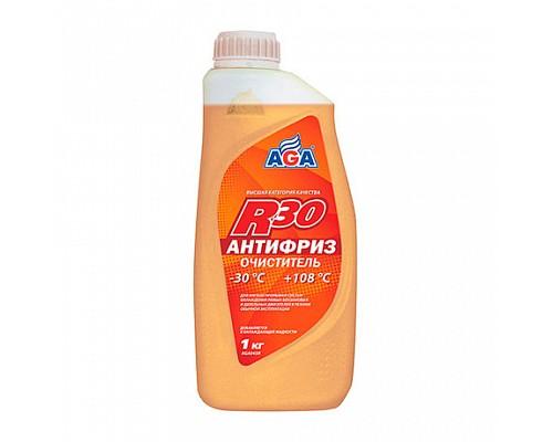 AGA045R Антифриз-очиститель, гот. к применению 1кг. 1шт./10шт.